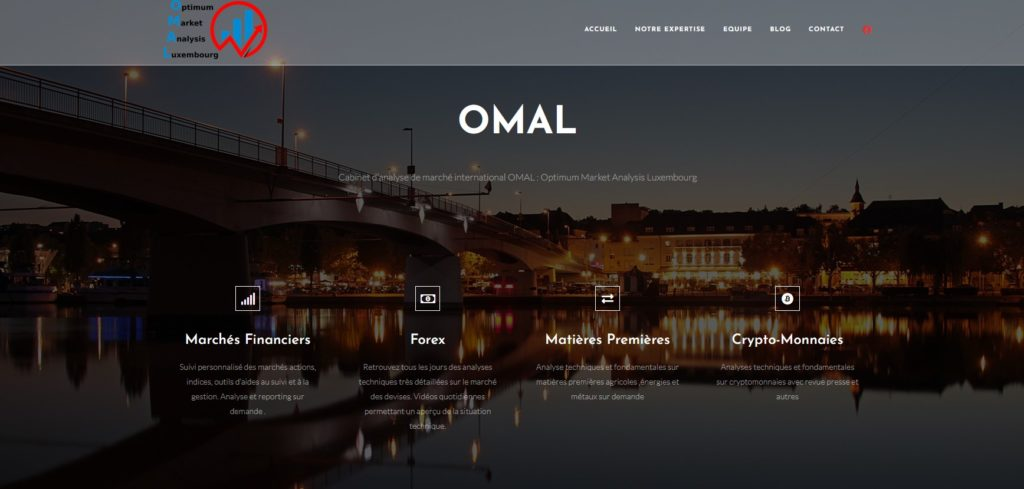 site internet omal
