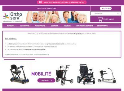 site internet orthoserv
